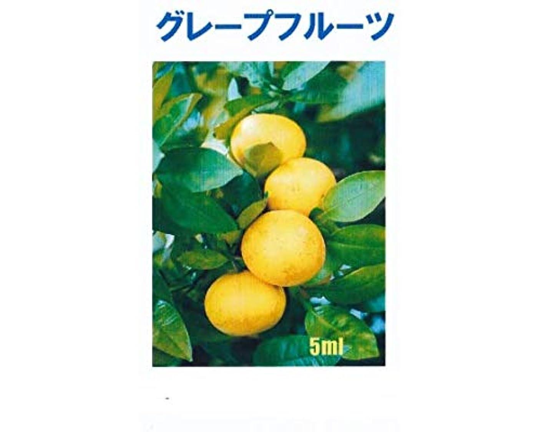 広大な無許可有益なアロマオイル グレープフルーツ 5ml エッセンシャルオイル 100%天然成分