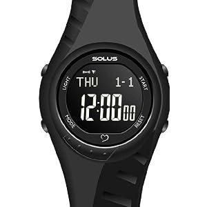 ソーラス]SOLUS 腕時計 心拍計測機能付 Team Sports 300 チームスポーツ 300 ジャパンリミテッドモデル ブラック 01-300-07 ユニセックス