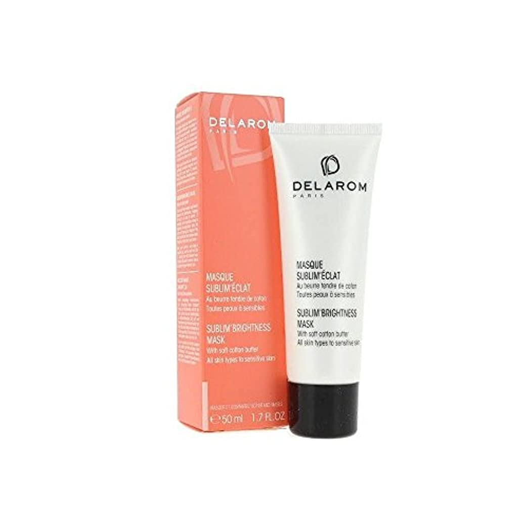 突き刺す追放振り返るDELAROM Sublim' Brightness Mask - For All Skin Types to Sensitive Skin 50ml/1.7oz並行輸入品