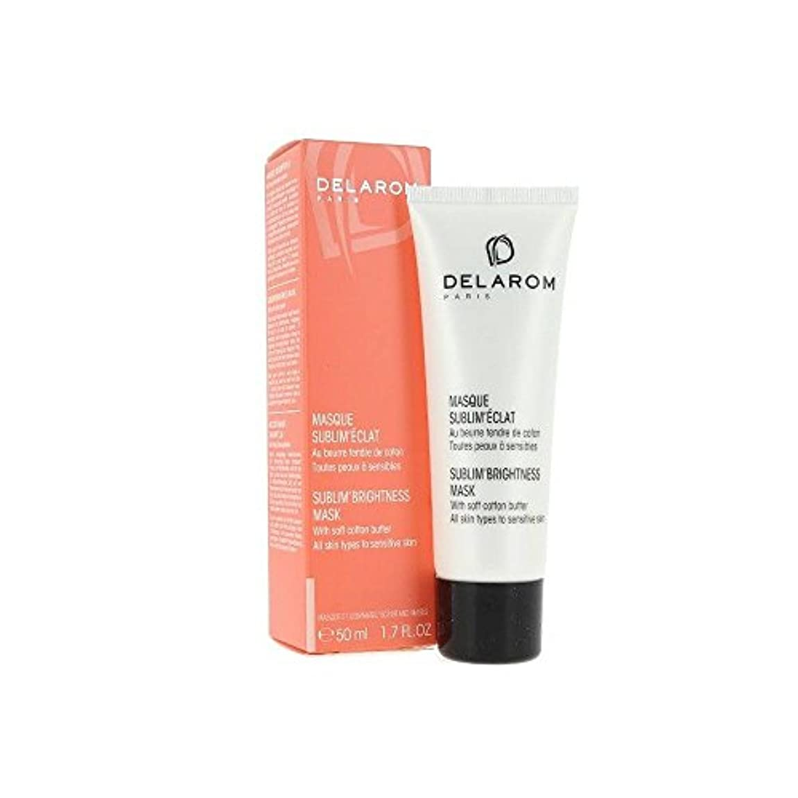不道徳手当バックアップDELAROM Sublim' Brightness Mask - For All Skin Types to Sensitive Skin 50ml/1.7oz並行輸入品