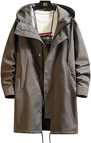 YUNY Mens Solid-Colored Leisure Warm Thick Oversize Down Jacket 9 L
