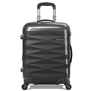 [アメリカンツーリスター] AmericanTourister スーツケース Crystalite クリスタライト スピナー69 無料預入受託サイズ 保証付 保証付 70L 69cm 4.1kg R87*58003 58 ダークグレー