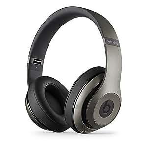 【国内正規品】Beats by Dr.Dre Studio Wireless 密閉型ワイヤレスヘッドホン ノイズキャンセリング Bluetooth対応 タイタニウム MHAK2PA/A