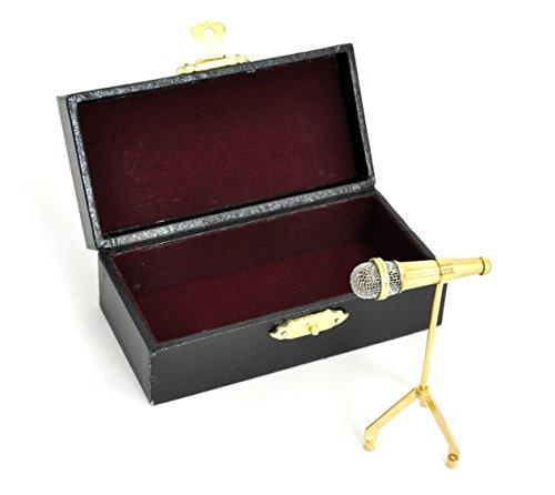 [해외]SUNRISE SOUND HOUSE 선 라이즈 사운드 하우스 미니어처 악기 마이크 스탠드 7cm/SUNRISE SOUND HOUSE Sunrise Soundhouse Miniature Instrument Mike Stand 7 cm