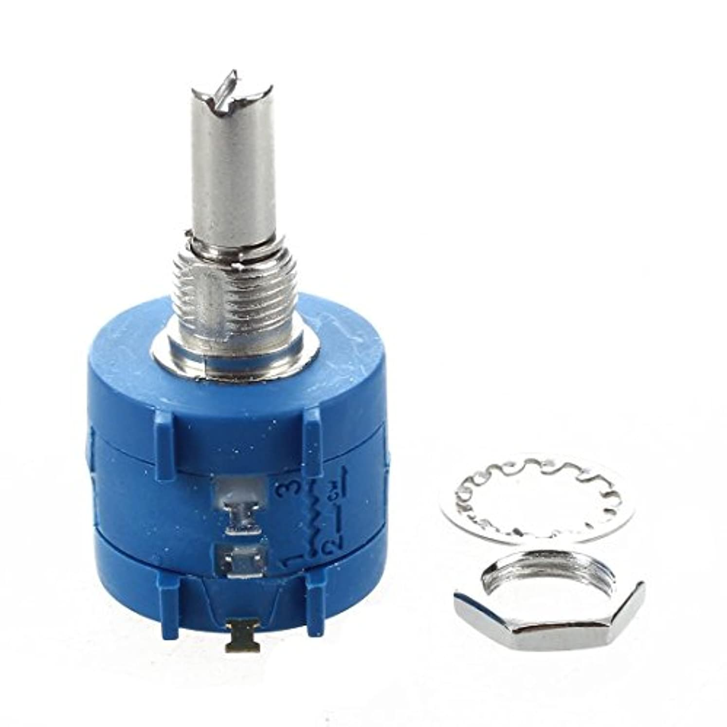 ライバル節約いっぱいACAMPTAR ACAMPTAR(R)3590S-2-103L 10Kオーム10ターンロータリー巻き線精密ポテンショメータ