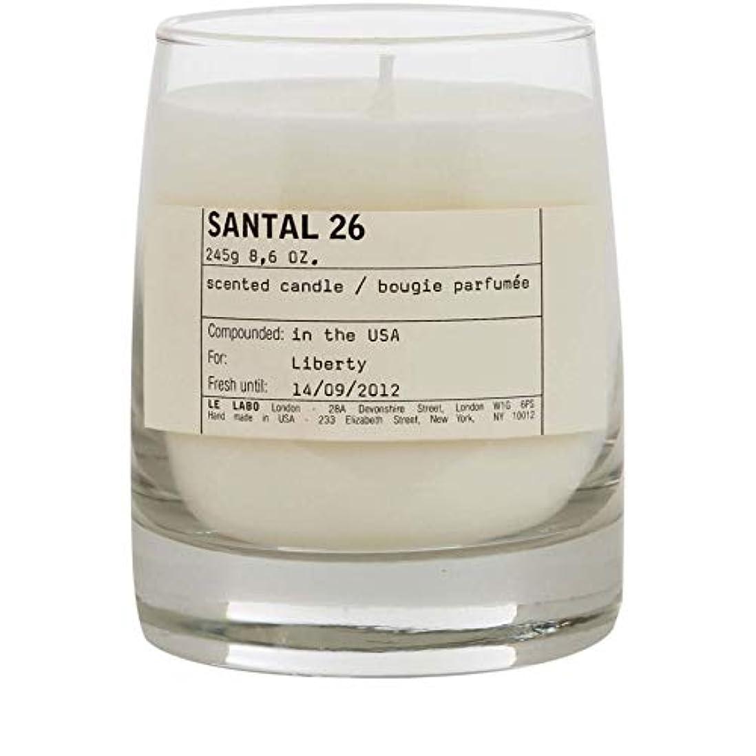 静脈まもなく最初に[Le Labo ] ルラボサンタル26キャンドル - Le Labo Santal 26 Candle [並行輸入品]
