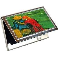 2つLovers by Vincent Van Goghビジネスカードホルダー