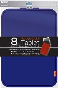 Digio2 タブレット 用 ネオプレーンケース 8インチ ブルー SZC-TCF8BL