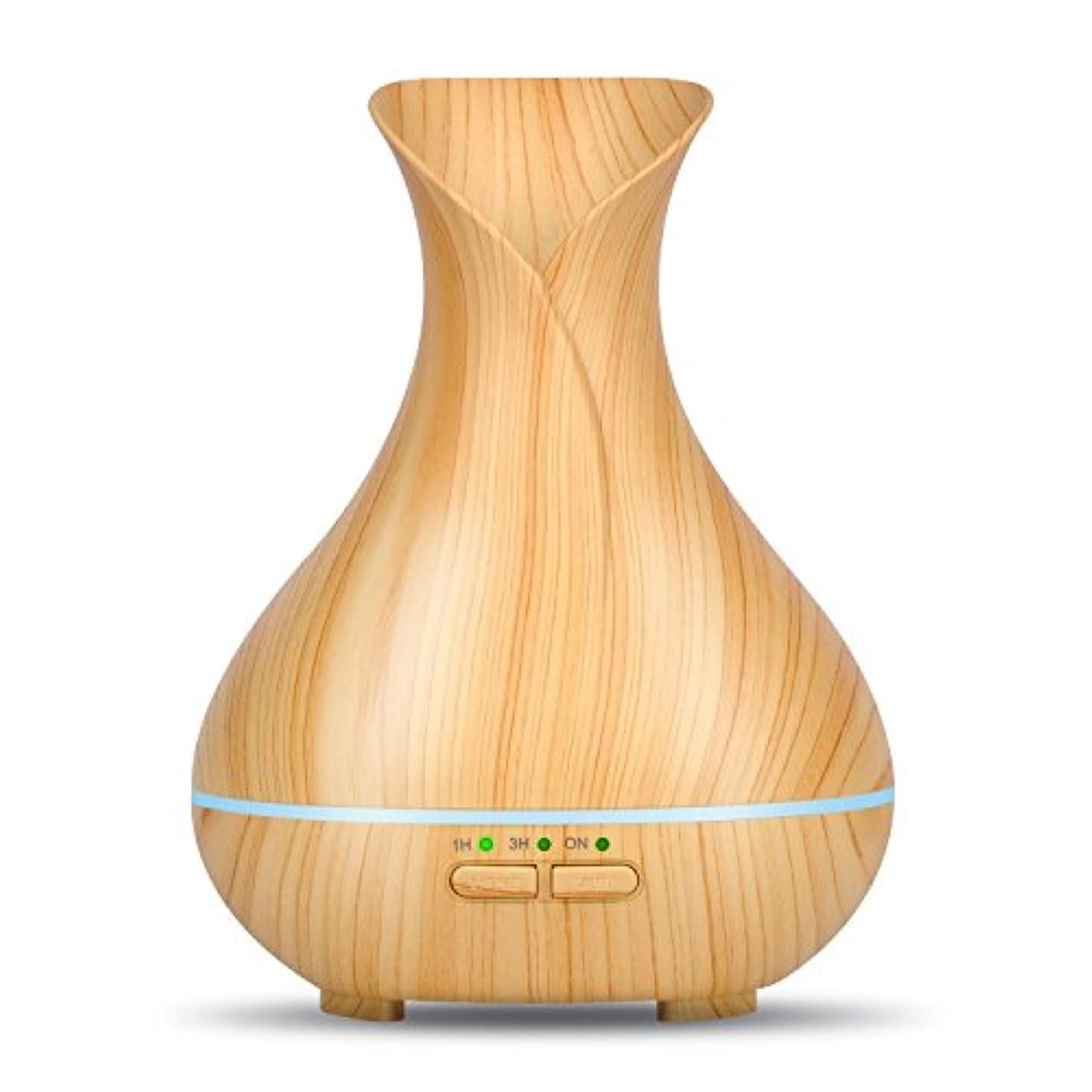 ショップ重量元気olivetechアロマエッセンシャルオイルアロマセラピーディフューザー、木目超音波クールなミスト加湿器で7色変更LEDライトとWaterless自動遮断forホームオフィス寝室赤ちゃん 150ml OTXX8008