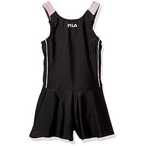 (フィラ) FILA(フィラ) FILA スクール水着 タンキニ/キュロパン124685ガールズ 124685 BK ブラック 130