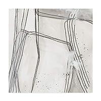 Trademark Fine Art WAG05107-C1414GG 抽象画Logic II June Erica Vess 14x14 14x14 WAG05107-C1414GG