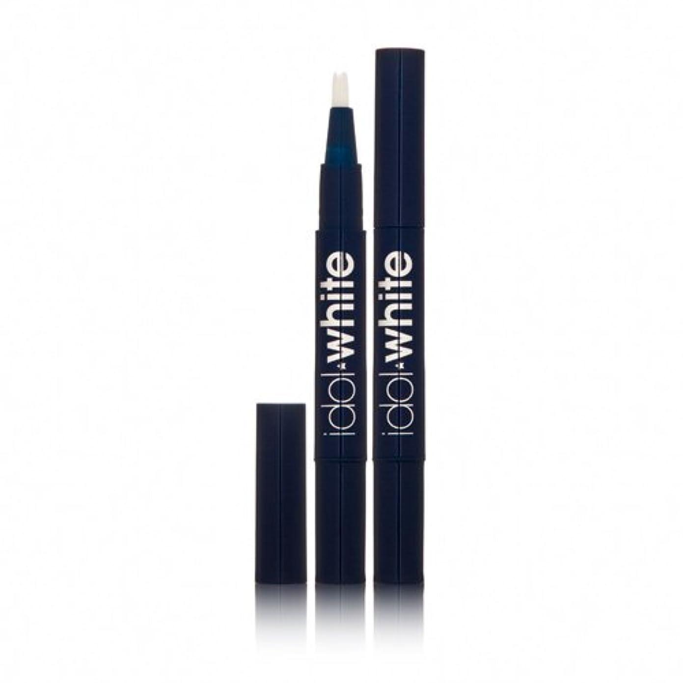 熟した知覚的足首Idol White Teeth Whitening Pen 2 Pens - 30 Day System
