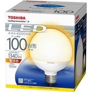 東芝(TOSHIBA)  LED電球 ボール電球形 1340...