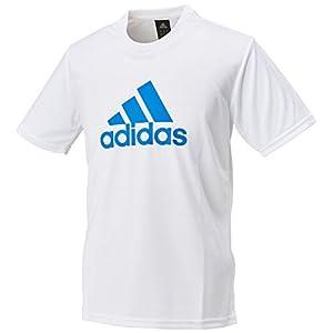(アディダス)adidas トレーニングウェア ビッグロゴ半袖Tシャツ DJF46 [メンズ] BR1345 ホワイト/ショックブルーS16 J/O