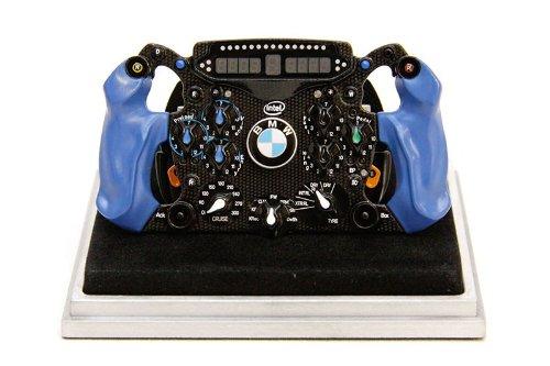 BMWザウバーF1.09 ステアリングホイール Amalgam1/4スケール