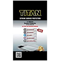 TITAN Screen Protector for Apple Watch 42 mm - Frustration-Free Packaging - Clear [並行輸入品]