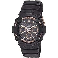 Casio AW591GBX-1A4 Black Silicone Quartz Sport Watch