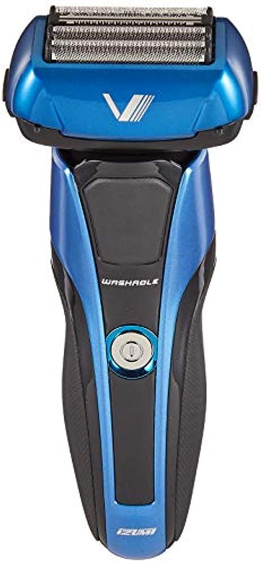 ヘルメット束副産物IZUMI Z-DRIVE ハイエンドシリーズ 往復式シェーバー 4枚刃 ブルー IZF-V978-A-EA