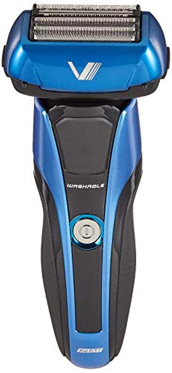 舌昨日体操選手IZUMI Z-DRIVE ハイエンドシリーズ 往復式シェーバー 4枚刃 ブルー IZF-V978-A-EA