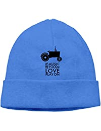 SmokyBird ニットキャップ ニット帽 ビーニー 防寒 ワッチ CAP エコ 食べ物 トラクター 栽培 農業 宣伝 音楽