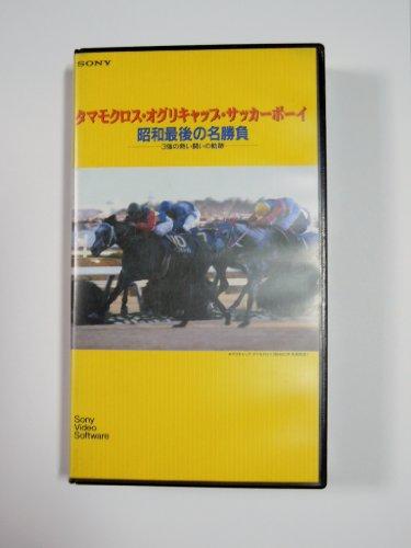 タマモクロス・オグリキャップ・サッカーボーイ 昭和最後の名・・・