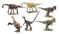 ミニチュア キューブ miniQ 恐竜発掘記8 恐竜造形大博覧会 ABS/PVC製 塗装済み 完成品 8個入 BOX