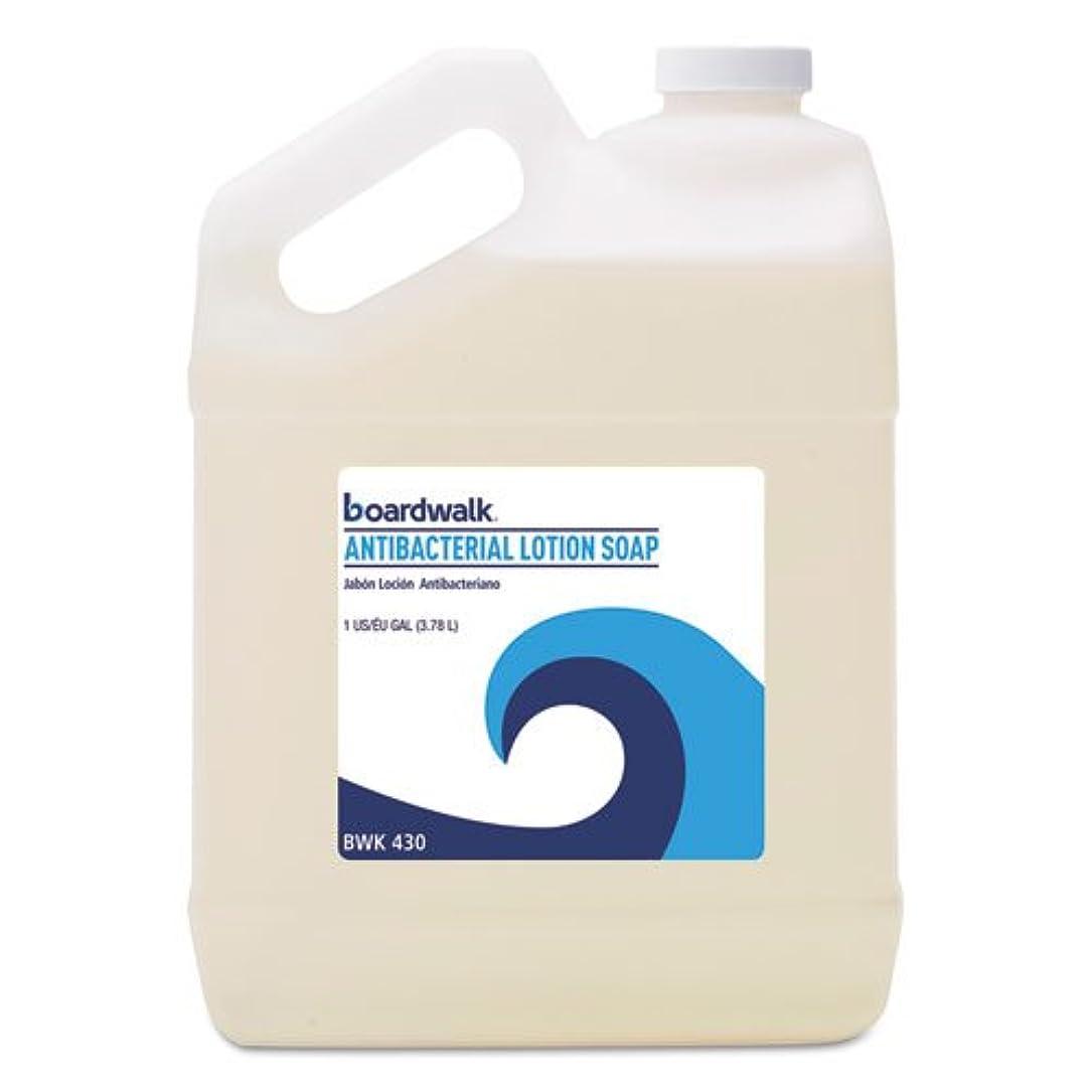 抗生物質ウィスキーシェフBoardwalk 抗菌液体石鹸 フローラルバルサム 1ガロンボトル