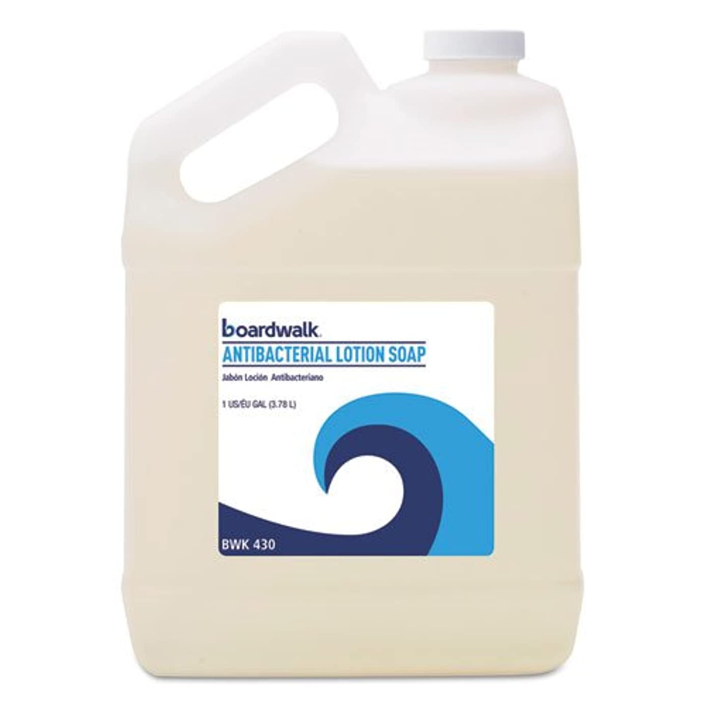 触覚ブロック反対するBoardwalk 抗菌液体石鹸 フローラルバルサム 1ガロンボトル