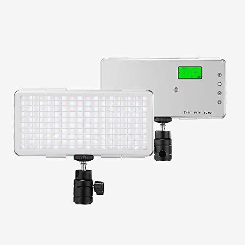 Rakuby LED ビデオライト 撮影用ライト 照明ライト...