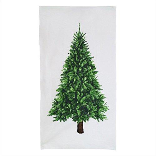 KIYOHARA クリスマス タペストリー パネルカットクロス 生地 オックス 約60cm幅×110cmカット col.WH 白 TY-1