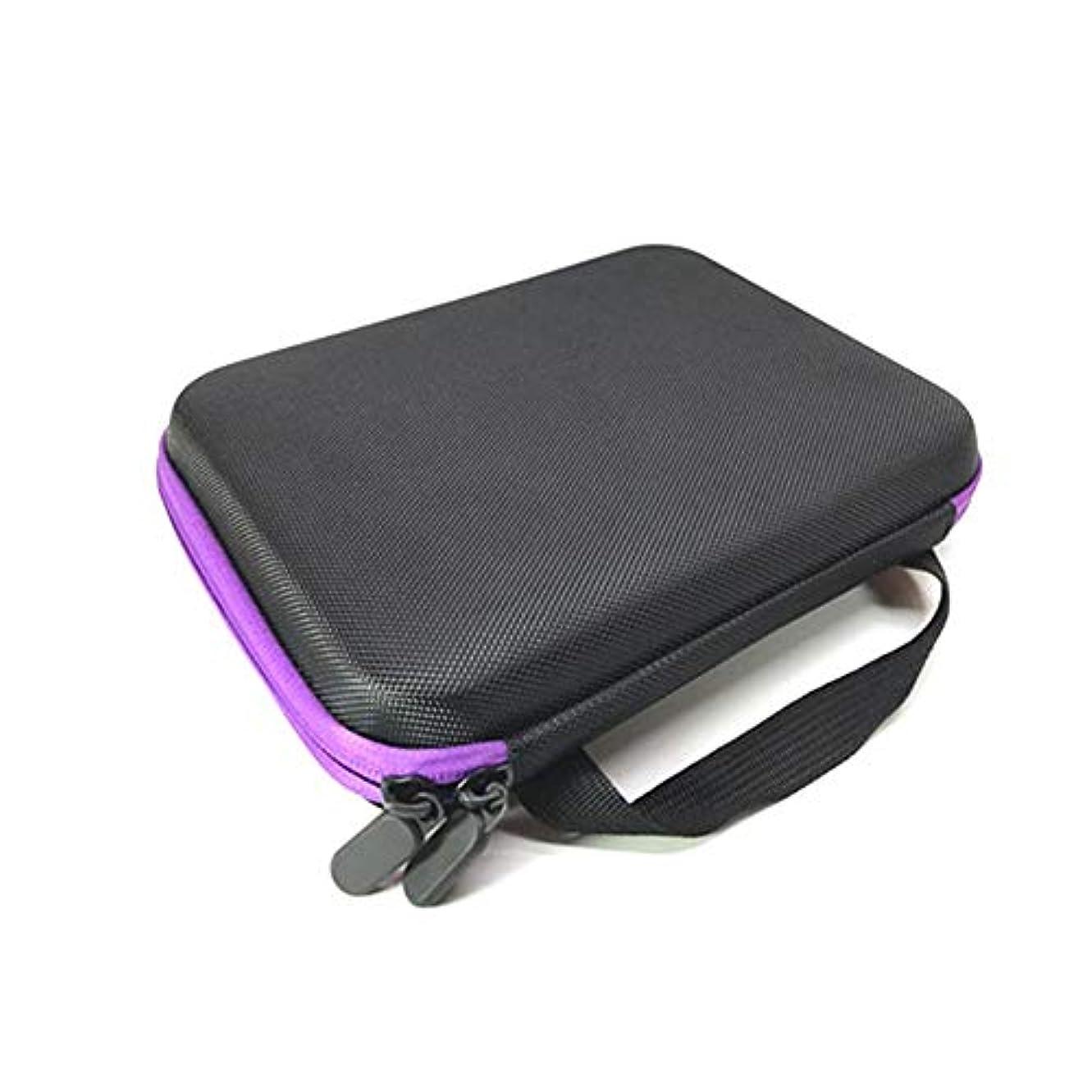 大きい学習者辛いCoinar アロマポーチ エッセンシャルオイル ケース 携帯用 エッセンシャルオイル収納ボックス アロマケース ボックス 香水収納ケース 15ml アロマオイル収納ボックス 19本用