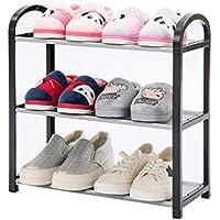 LINGZHIGAN 靴ラックシンプルな家のアセンブリ経済寮ベッドルームシューズラックストレージファブリック防塵靴キャビネットマルチレイヤー (サイズ さいず : 42 * 20 * 43cm)