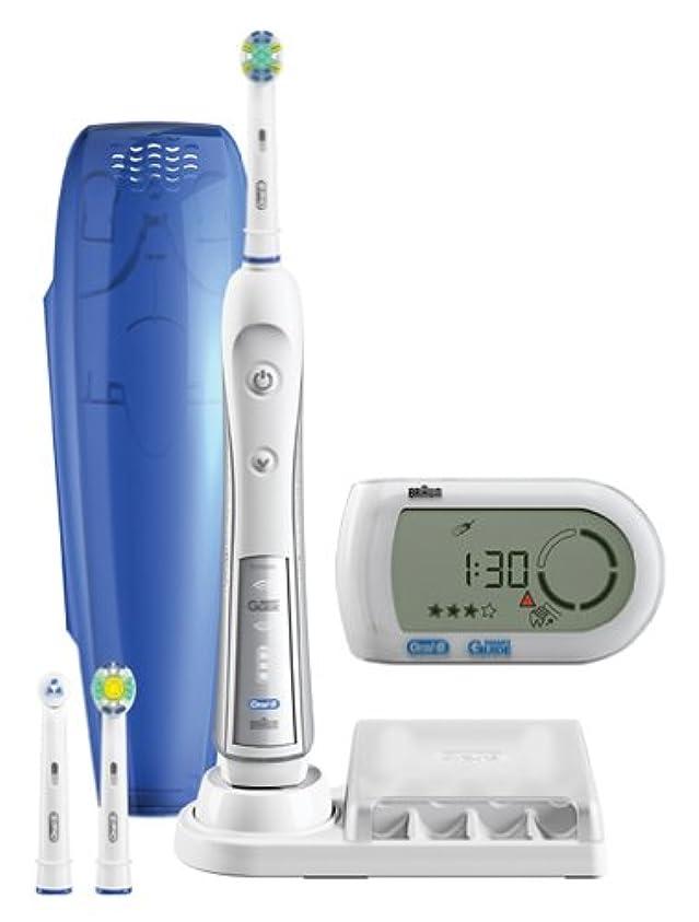 スピーカー命令的枝ブラウン オーラルB 電動歯ブラシ デンタプライド5000 歯磨きナビ付 D345355X
