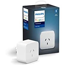Philips Hue Smart Plug with Bluetooth, Works with Alexa and Google Assistant [Energy Class A Plus]