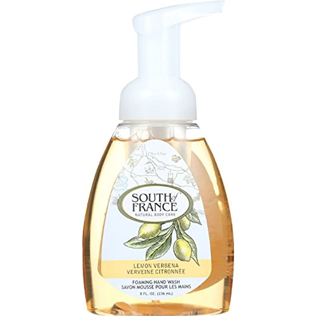 美徳国家荒涼としたHand Soap - Foaming - Lemon Verbena - 8 oz - 1 each by South Of France