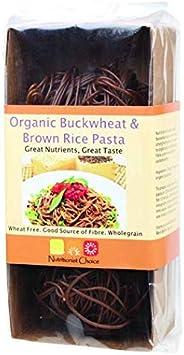 Nutritionist Choice Organic Brown Rice and Buckwheat Pasta, 180 g