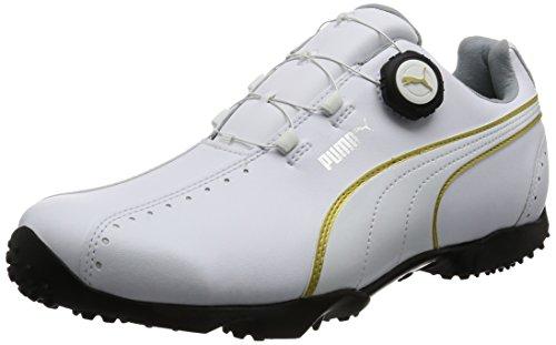 [プーマゴルフ] ゴルフシューズ Ace Spikeless DISC 189426 04 プーマ ホワイト*プーマ ホワイト 25.5