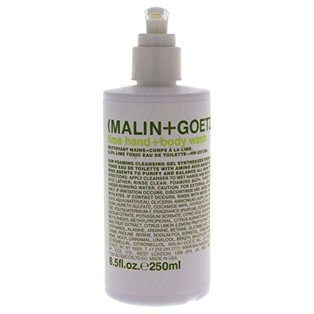 エアコン胚芽難しいMalin + Goetz Lime Hand Wash W. Pump-8.5 Oz. by (Malin + Goetz)