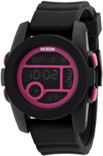 [ニクソン]NIXON UNIT 40: BLACK/MAGENTA NA4901614-00 【正規輸入品】