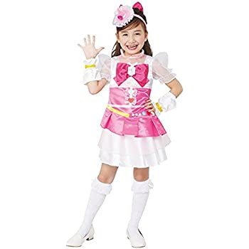 魔法つかいプリキュア! キュアミラクルダイヤ 変身プリチューム キッズコスチューム 女の子 95cm-115cm