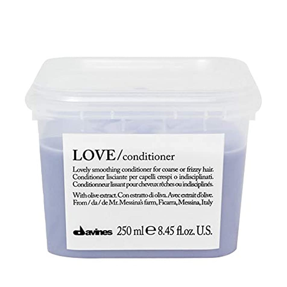 熱心悲鳴ほのめかす[Davines ] ダヴィネスラブコンディショナー250Ml - Davines Love Conditioner 250ml [並行輸入品]