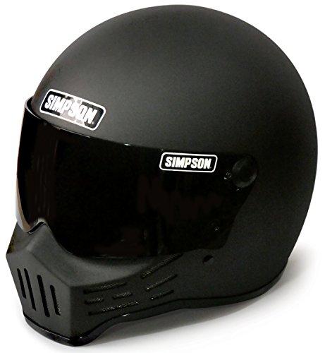 シンプソン(SIMPSON) バイクヘルメット フルフェイス Model30 ストーンブラック 61cm 3305456100