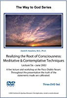Realizing the Root of Consciousness: Meditative & Contemplative Techniques-June 2002 DVD [並行輸入品]