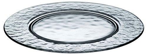 パラティーナ 丸皿 ガラス プレート 約φ31×1.5cm