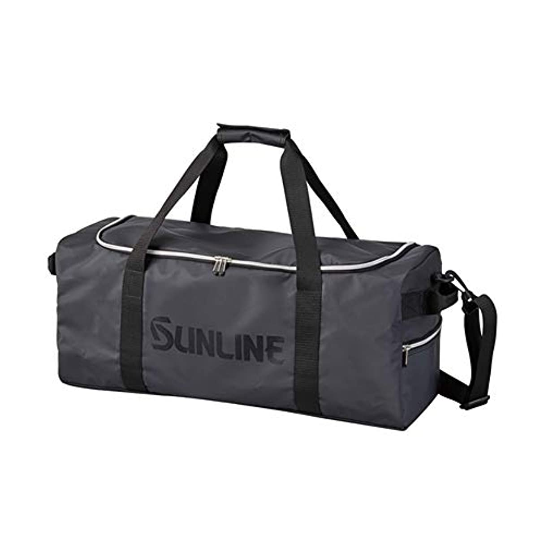 しょっぱい評判ダーリンサンライン(SUNLINE) 磯バッグ ボストンバッグ SFB-0712 マットブラック