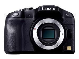 Panasonic ミラーレス一眼カメラ ルミックス G6 ボディ 1605万画素 ブラック DMC-G6-K