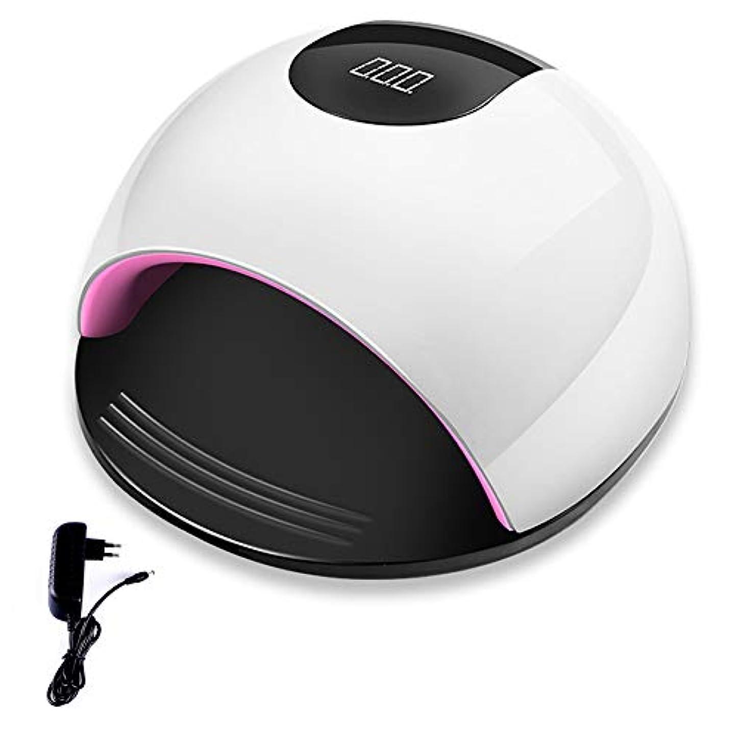 ホールドオール通知する幼児LEDネイルドライヤー自動センサー 3段階タイマー設定 80W