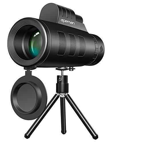 APEMAN単眼鏡 望遠鏡10X50 高倍率 スーパーズーム...