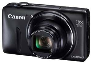 Canon デジタルカメラ Power Shot SX600 HS ブラック 光学18倍ズーム PSSX600HS(BK)