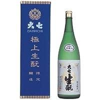 大七酒造(株) 大七 極上生もと 限定醸造(宝ケース)1800ml/福島 e336 お届けまで10日ほどかかります